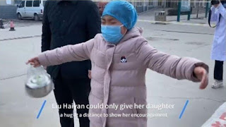 video pelukan perawat corona dengan anaknya