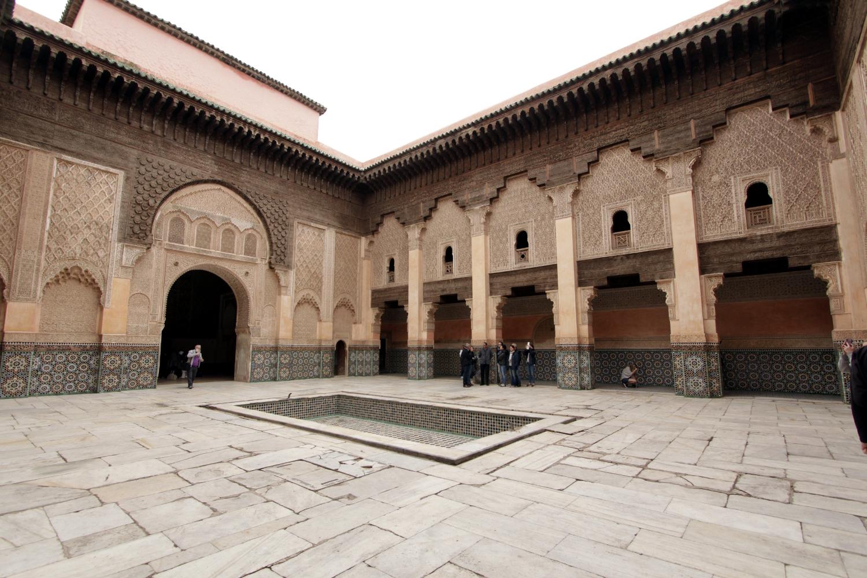 Madrasa de Ben Youssef en Marrakech