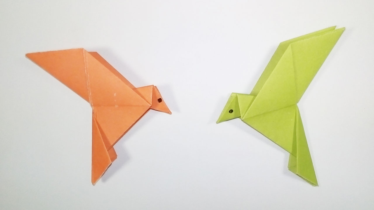 How to Make Origami Birds (with Pictures) - wikiHow | 720x1280