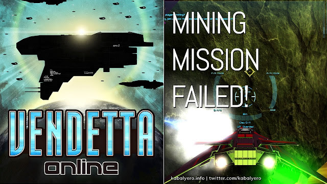 Premium VanAzek Ore Mining Mission Failed! Vendetta Online Gameplay 2020