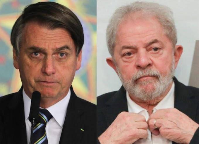 Eleições: Bolsonaro lidera, mas tem favoritismo ameaçado por Lula, aponta Paraná Pesquisas