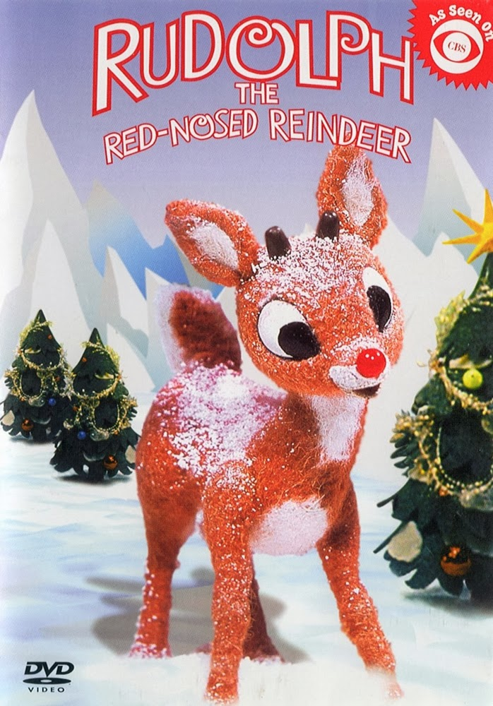 Cute Rudolph The Red Nosed Reindeer Coloring Pages