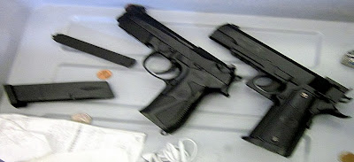 Airsoft Guns Discovered at OMA