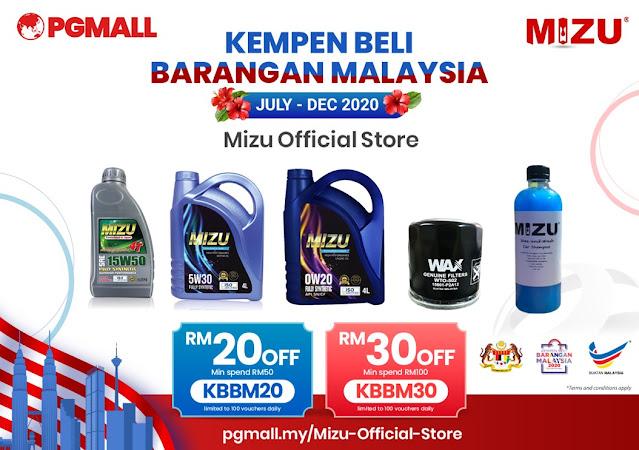 PG Mall Malaysia Online Shopping 11.11 Penang Blogger Influencer Malaysia #barangbaikbarangkita kempen beli barangan malaysia mizu