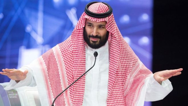 Muhammad bin Salman. The attack on Saudi installations was a folly .