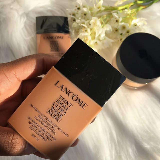 Lancôme Teint idole ultra wear nude review