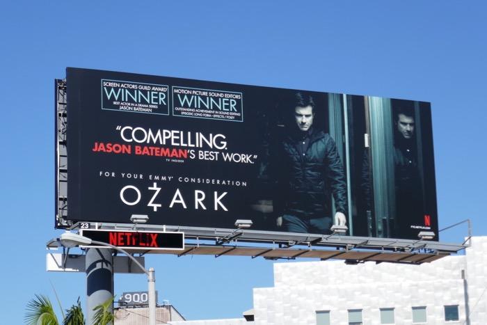 Jason Bateman Ozark 2019 Emmy FYC billboard