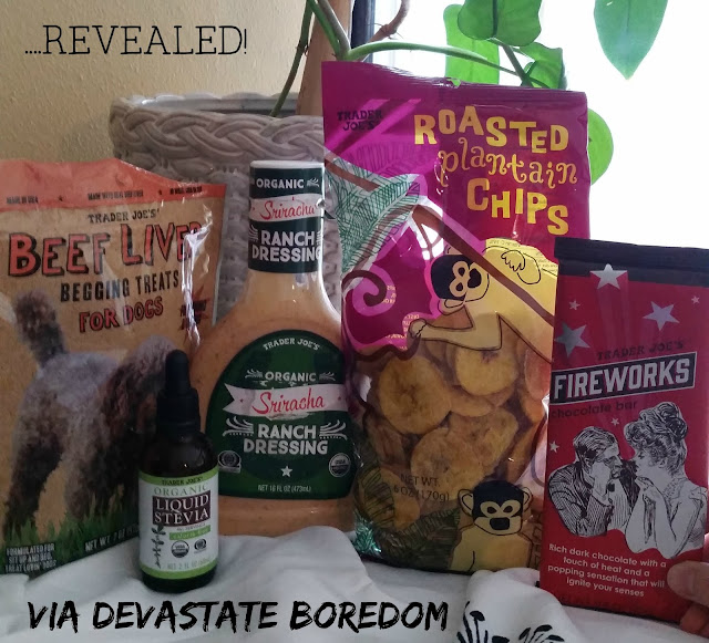 The 5 best things to buy at Trader Joes, that you haven't already discovered!  Unusual, tasty, FUN, and CHEAP products that will make your shopping cart a lot more interesting! via Devastate Boredom