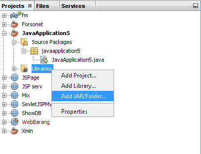 how to connect mysql database in java using netbeans 8