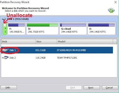 Cara Mengembalikan Partisi Data File Yang Terhapus menggunakan Aomei Partition Assistant