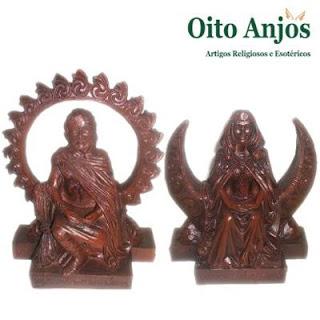 Artigos Esotéricos e Wicca: Deusa da Lua e o Deus do Sol