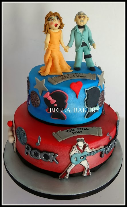rock themed wedding cakes rock n roll theme wedding anniversary cake 19252