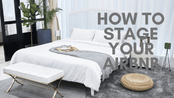 Stage your AIRBNB