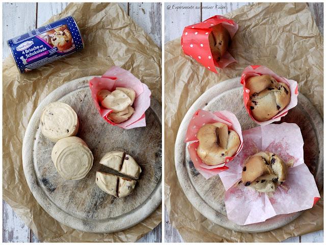 Experimente aus meiner Küche: Schokoladen-Brioche-Muffins