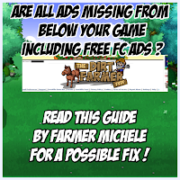 Ads Missing From Below Your Game? Read This Guide By Farmer Michele For A Possible Fix