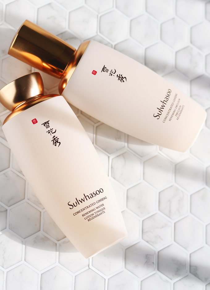 Sulwhasoo,Sulwhasoo Skincare,  Sulwhasoo Review, Sulwhasoo Concentrated Ginseng Renewing Water, Sulwhasoo Concentrated Ginseng Renewing Emulsion, Sulwhasoo Concentrated Ginseng Renewing Water Review, Sulwhasoo Concentrated Ginseng Renewing Emulsion Review