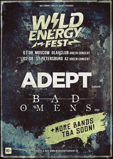 Wild Energy Fest: Adept, Bad Omens