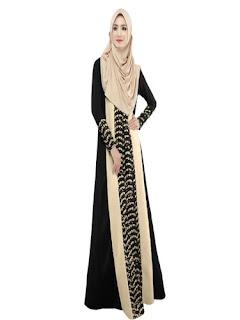 Long Dress Batik Kombinasi Kebaya
