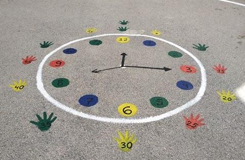Ένας παιχνιδόκοσμος στο προαύλιο του 1ου Δημοτικού Σχολείου Κρανιδίου