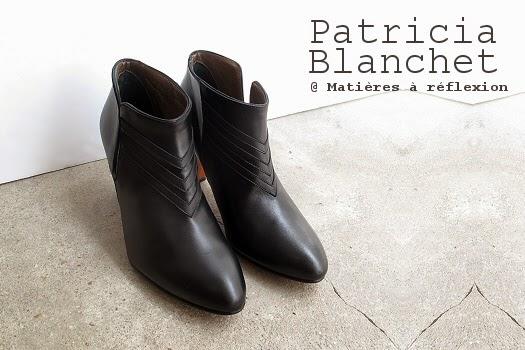 Bottines Patricia Blanchet Igor noir : black is black !