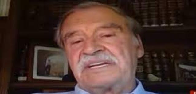 """Comentarista asegura que Vicente Fox es un IGNORANTE """"increíble QUE HAYA SIDO PRESIDENTE"""" ¿Estas de acuerdo?"""