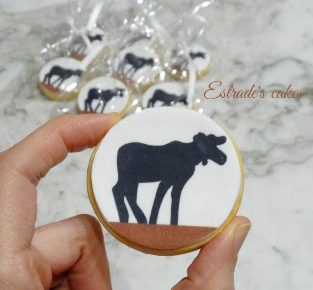 galletas de alce con papel comestible 1