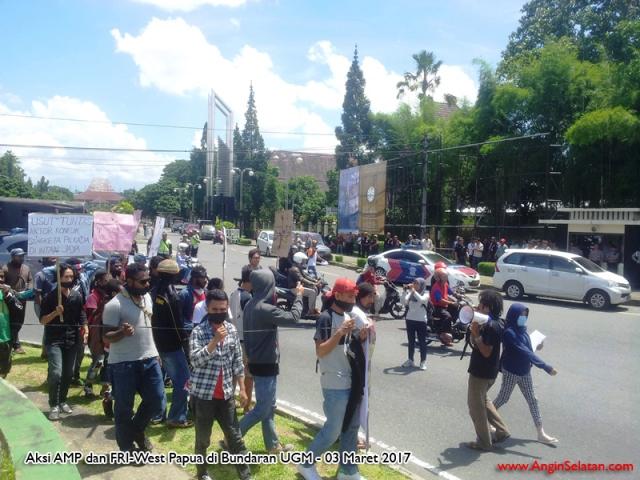 AMP dan FRI West Papua  akan Buat Aksi di Bundaran UGM