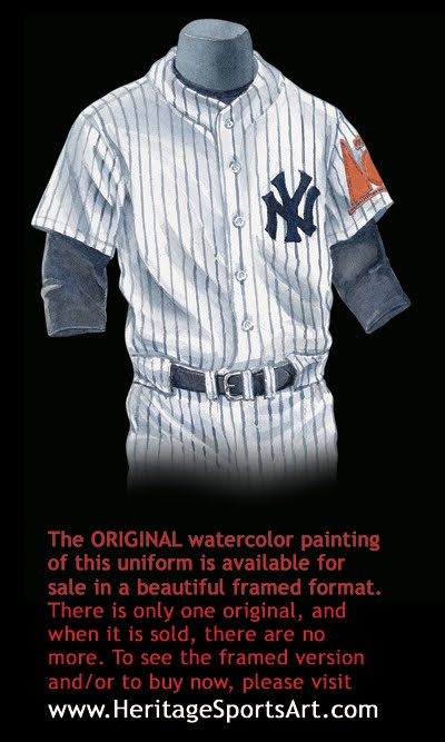 d338d7190d7ce New York Yankees Uniform and Team History | Heritage Uniforms and ...