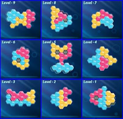 Block! Hexa Puzle Level 1-9