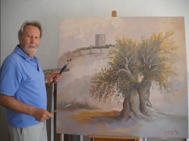 Αθανάσιος Σταθακόπουλος, ο ζωγράφος που ζωντανεύει την ομορφιά της ζωής με χρώματα