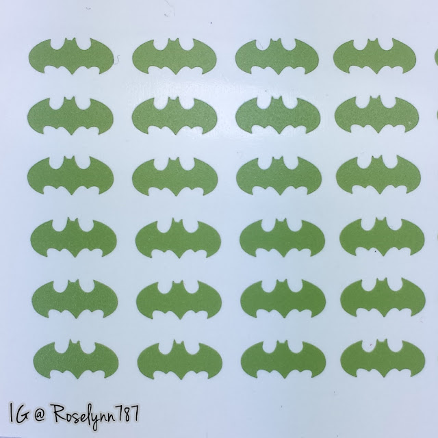 Loki's Nail Vinyls - Batman Nail Vinyls