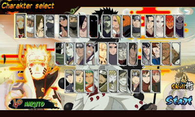 Download Naruto Senki MOD Unlimited Coin All S S4 Revolution Full Character Apk Game Terbaru