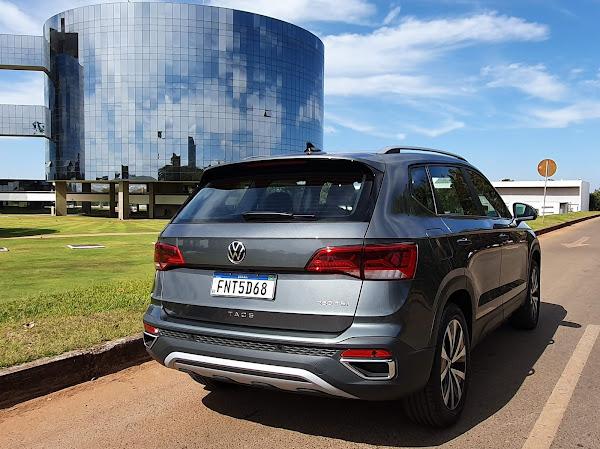 Volkswagen Taos Highline 2022 - avaliação
