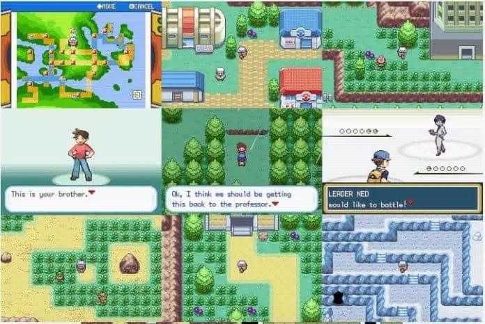 Pokemon Fuligin Rom Screenshots