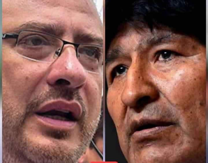 Calvo llama pedófilo, terrorista, resentido y delincuente a Evo Morales