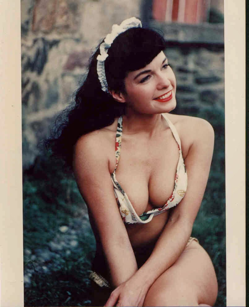 Betty Page Photos: ON THE FLIP-SIDE: April 2015