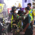 Tekan Kasus Covid-19 di Samosir, TNI-Polri Patroli Skala Besar