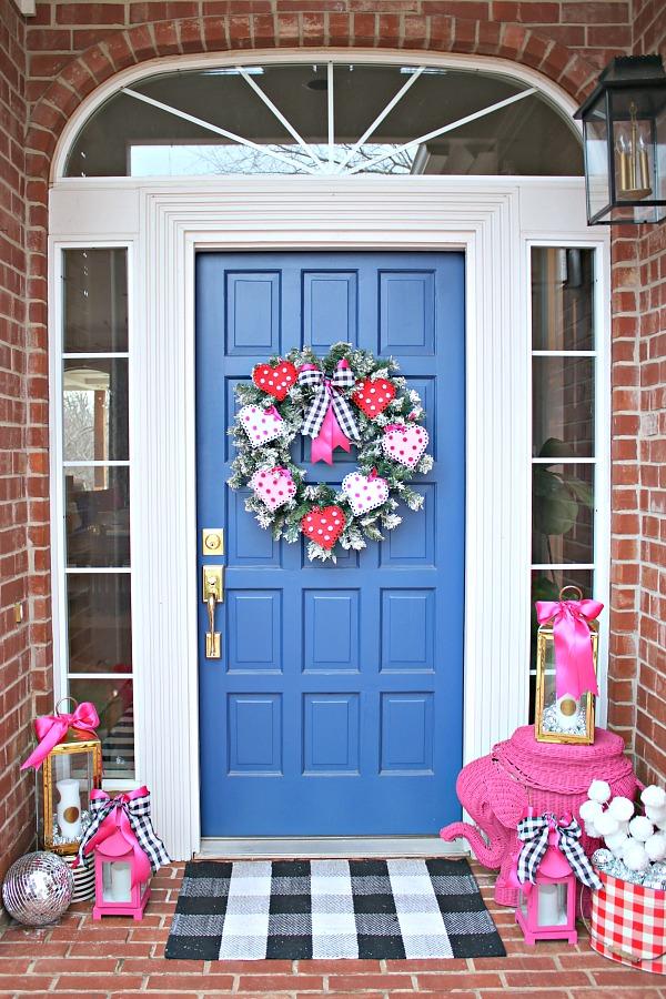Dollar Tree Crafts, Valentine's Day Wreath,