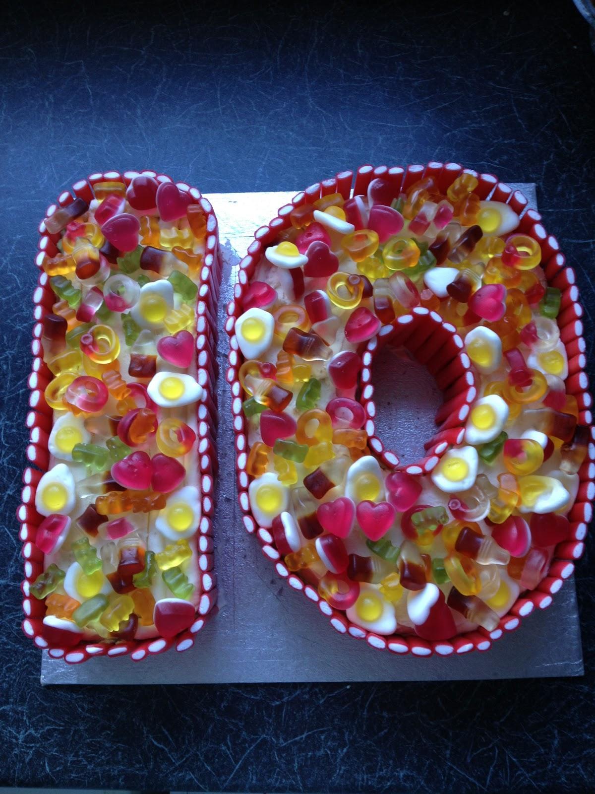 Spoonlicker 10th Birthday Cake