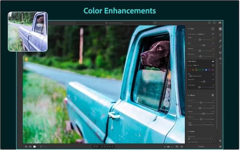 أفضل بدائل فوتوشوب Mac Adobelightroom