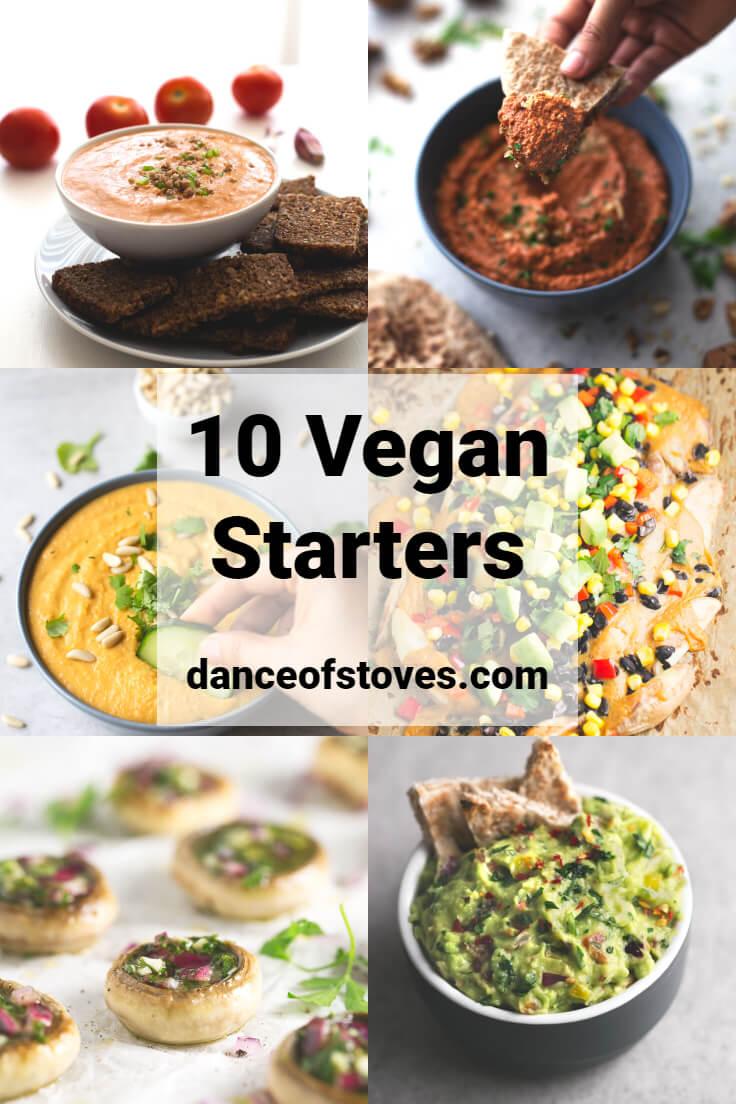 10 Vegan Starters