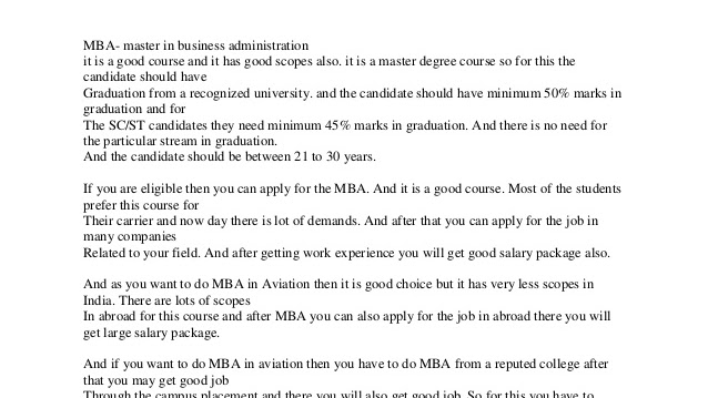 Associate Degree - Associate Degree In Business Administration
