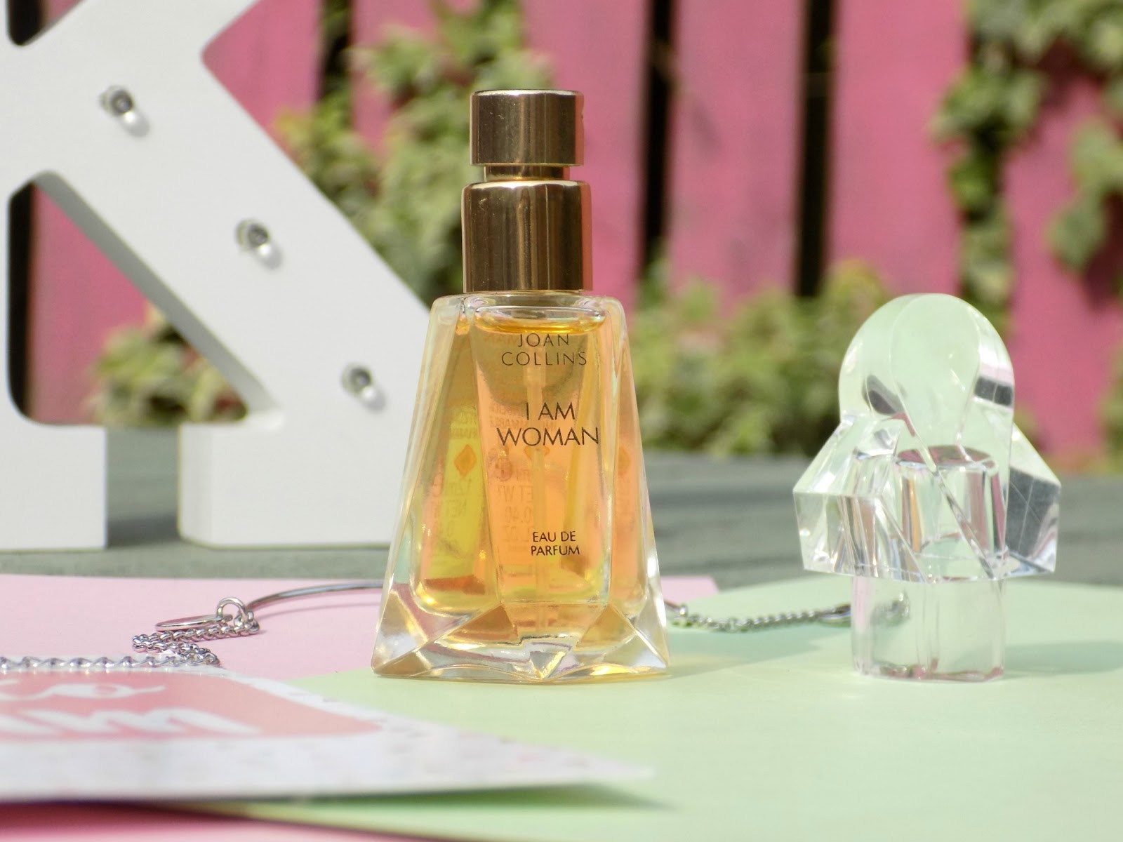 Joan Collins I am Woman fragrance review