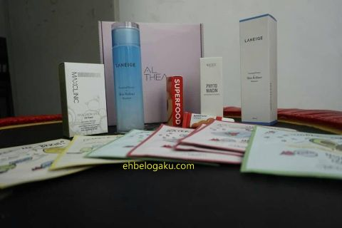 skincare, cosmetic, essence, mask, face toner ,laneige