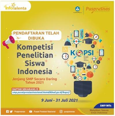 KOMPETISI-PENELITIAN-SISWA-INDONESIA-(KoPSI 2021)