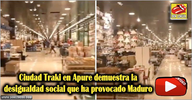 Ciudad Traki en Apure demuestra la desigualdad social que ha provocado Maduro