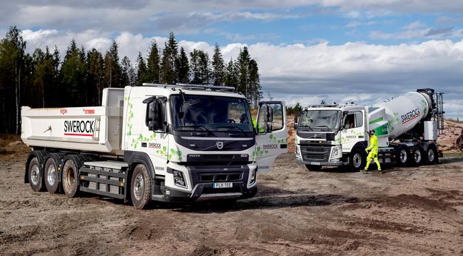 Volvo inicia testes com caminhões elétricos na construção civil