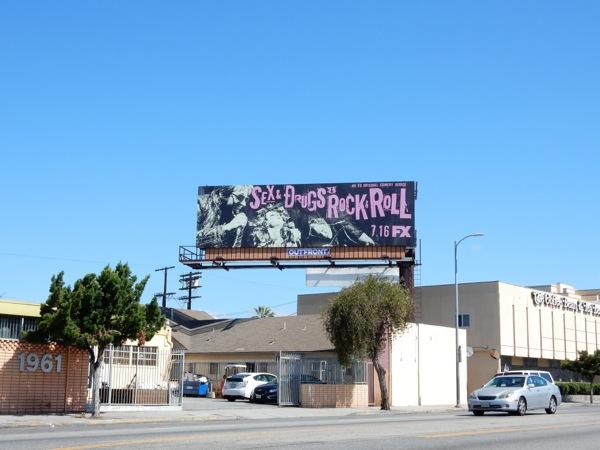 Sex Drugs Rock Roll FX billboard