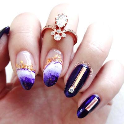 Alluring Amethyst Nails