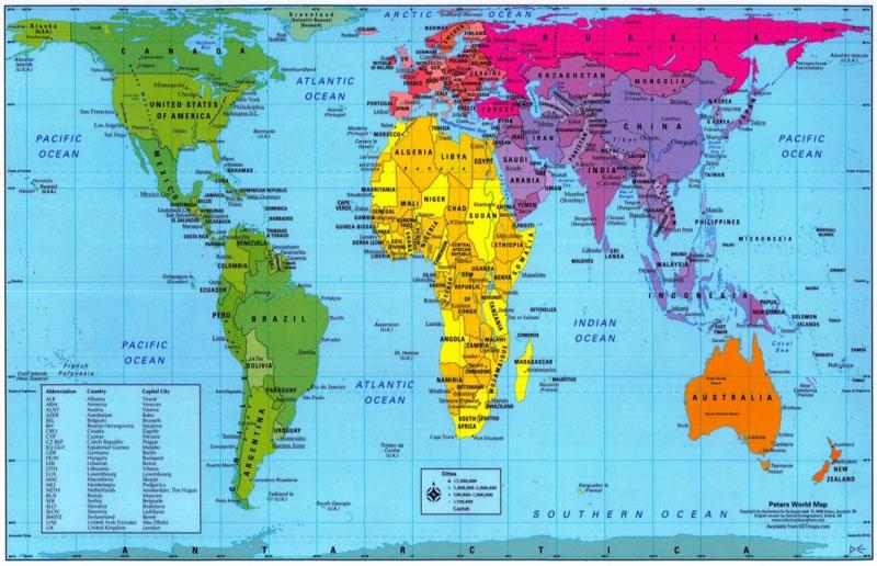 Inilah Ukuran Luas Indonesia Sebenarnya Dibanding Negara Lain Tipsiana Tak